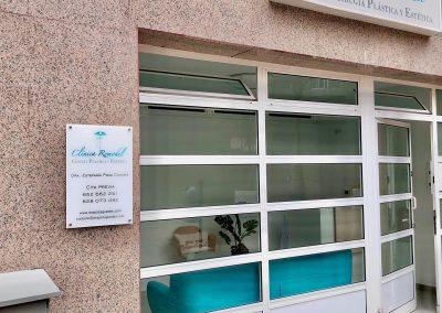 Clínica Remodel. Cirugía plástica y estética en Las Palmas. Entrada a la clínica.